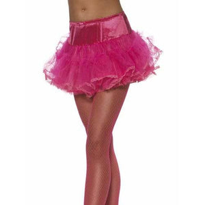 Hot Pink Tulle Petticoat