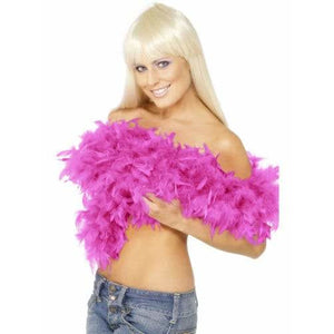 Fuchsia Pink Deluxe Feather Boa