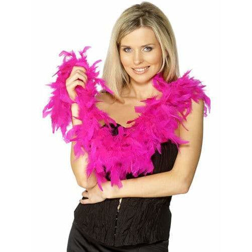 Fuchsia Pink Feather Boa