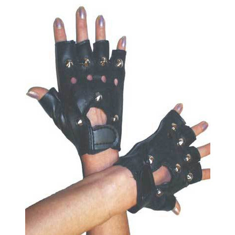 Punk Gloves with Studs