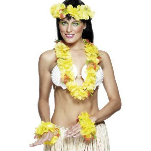 Yellow Hawaiian Set