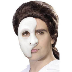 PVC Half Face Phantom Mask - mypartymonsterstore