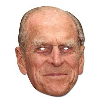 Prince Phillip Face Mask
