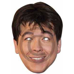 Michael McIntyre Celebrity Face Mask - mypartymonsterstore