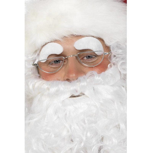 White Santa Eyebrows