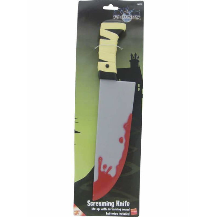 Light Up Screamer Knife