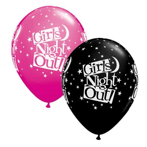 Girls Night Out Stars Latex Balloons x25