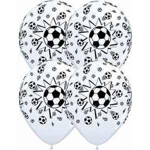 Football Latex Balloons x25 - mypartymonsterstore