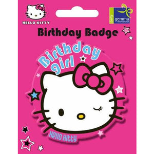Hello Kitty Pink Jumbo Badge