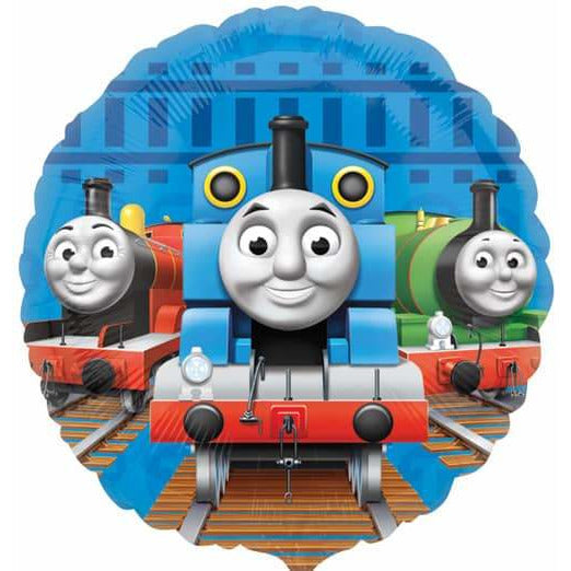 Thomas non message foil balloon