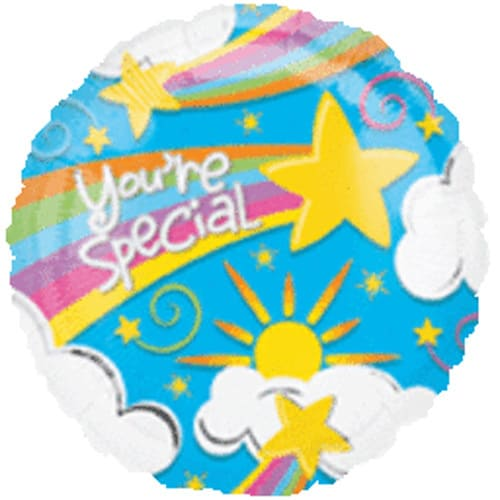 You're Special Rainbow Foil Balloon