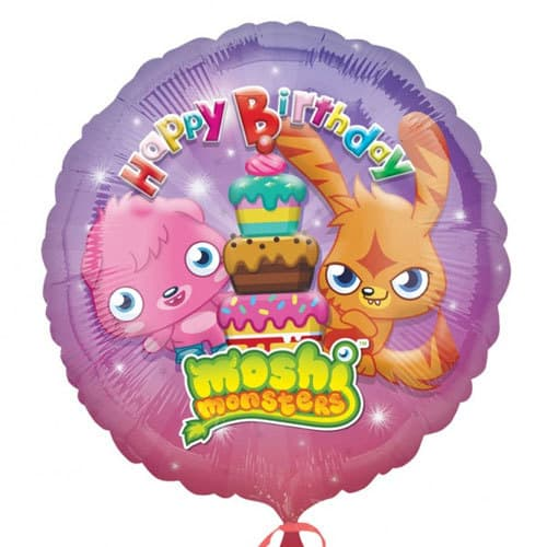 Moshi Monsters Happy Birthday