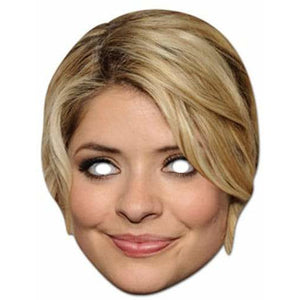 Holly Willoughby Celebrity Face Mask - mypartymonsterstore