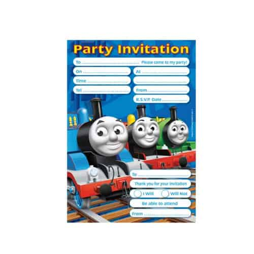 Thomas And Friends Party Invitations x20