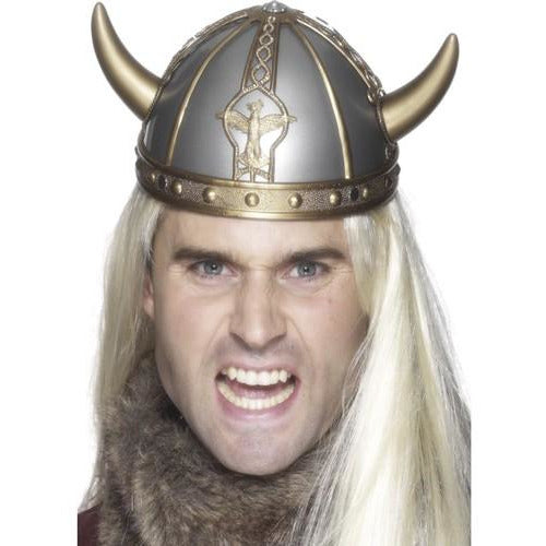 PVC Viking Helmet With Horns