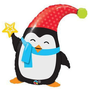 Popular Elfin Penguin Shape Balloon - mypartymonsterstore