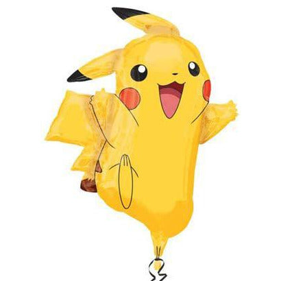 Pokemon Pikachu Supershape Foil Balloon