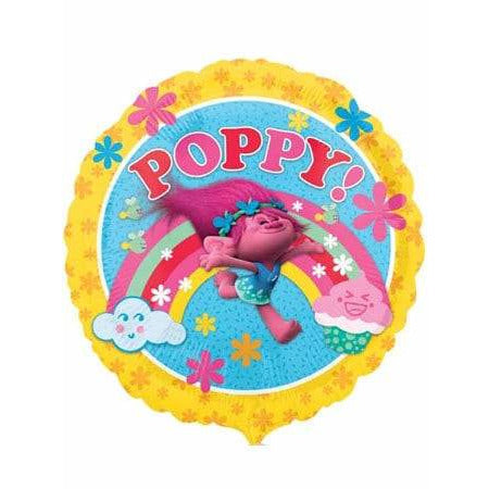 Poppy Foil Balloon