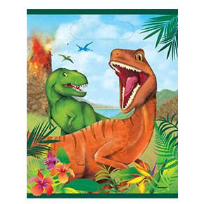Dinosaur Party Bags x8 - mypartymonsterstore