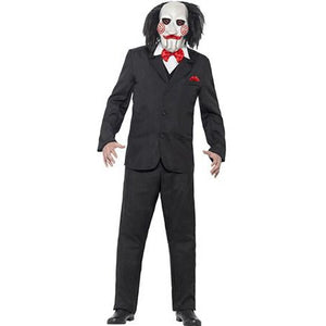 Saw Jigsaw Costume - mypartymonsterstore