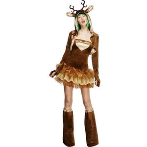 Fever Reindeer Costume - mypartymonsterstore