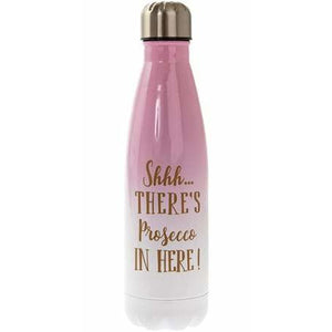 Shhh There's Prosecco In Here Drink Flask