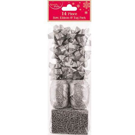 Silver Metallic Gift Pack 14pc