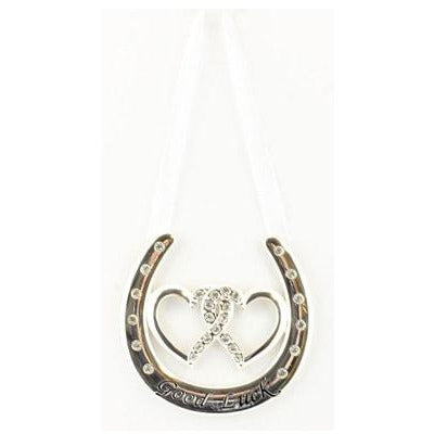 Silver Plated Good Luck Horse Shoe