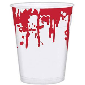 Sinister Surgery Bloody Plastic Cups 25pk
