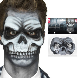 Skull Head Prosthetic - mypartymonsterstore