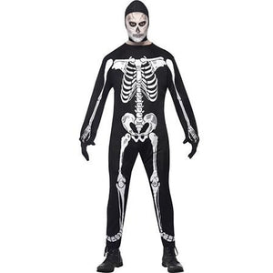 Skeleton Jumpsuit Costume