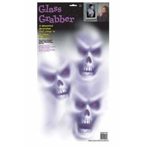 Skull Glass Grabber Window Decoration