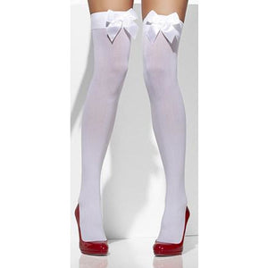 White Opaque Hold Ups