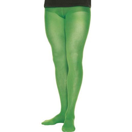Men's Green 70 Denier Tights