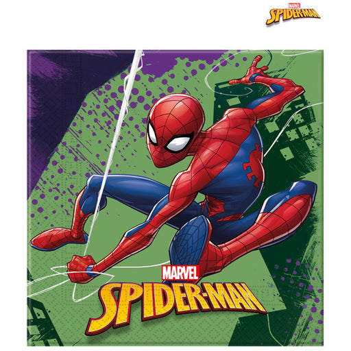Spider Man Party Napkins