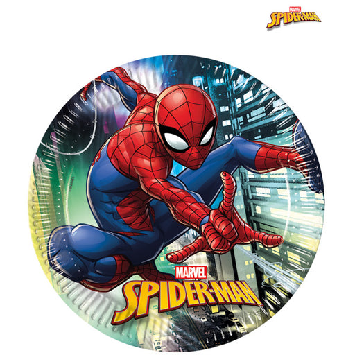 Spider Man Party Plates