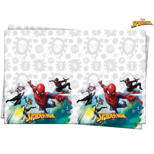 Spider Man Plastic Table Cover