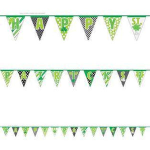 Happy St Patrick's Day Flag Banner