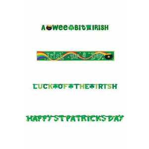 St Patrick's Day Party Banners