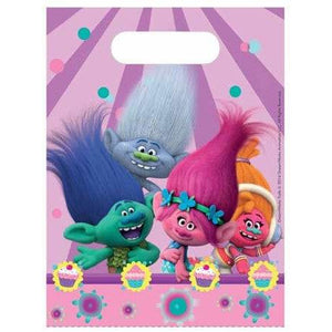 Trolls Party Bags - mypartymonsterstore