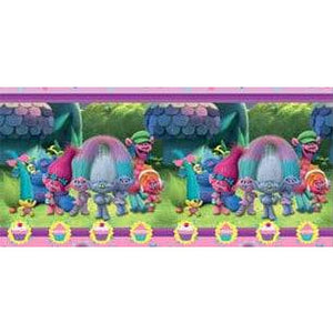 Trolls Plastic Tablecover - mypartymonsterstore