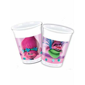 Trolls Plastic Party Cups - mypartymonsterstore