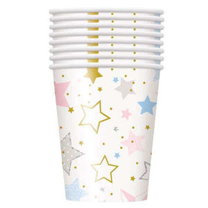 Twinkle Twinkle Little Star Paper Cups - mypartymonsterstore