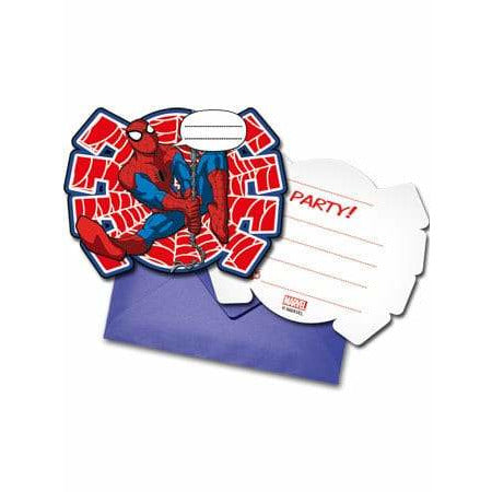 Ultimate Spider-Man Party Invitations