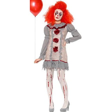 Vintage Clown Lady Costume