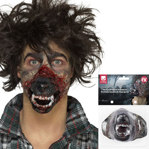 Werewolf Mouth Prosthetic - mypartymonsterstore