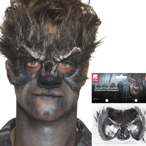 Werewolf Head Prosthetic - mypartymonsterstore