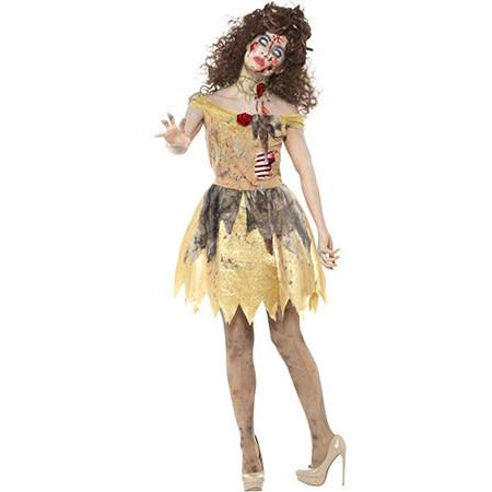Zombie Golden Princess Costume