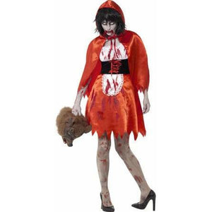 Zombie Little Miss Hood Costume - mypartymonsterstore