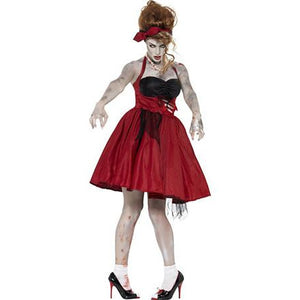 Zombie 50s Rockabilly Costume - mypartymonsterstore